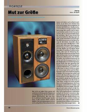Testbericht: Studio Magazin 05/09