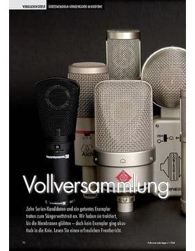 Test: Großmembran Mikros (Professional audio Magazin 11/2006)
