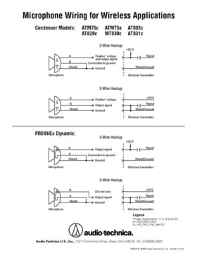 audio technica pro 8 hex thomann uk rh thomann de Car Audio Capacitor Wiring Diagram Boss Audio Wiring Diagram