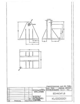 Technische Zeichnung / Technical Drawing