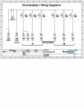 Stromlaufplan / Wiring Diagram