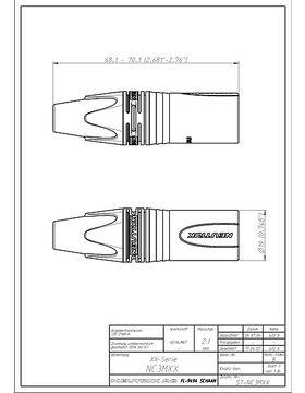 Neutrik NC3MX BAG XLR-Stecker (M) – Musikhaus Thomann on