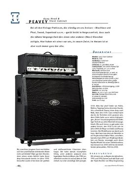 Peavey 6505 H & Slant Cabinet