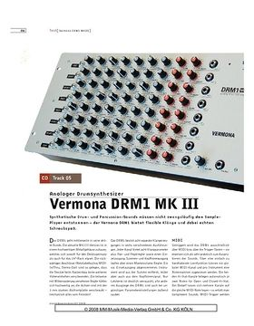 Vermona DRM1 MK III