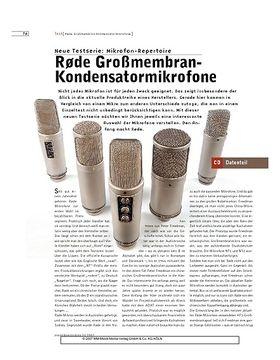Rode Großmembran-Kondensatormikrofone