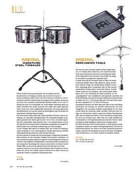 Meinl Percussion Table
