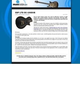 ESP LTD EC-1000VB