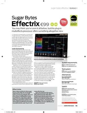 Sugar Bytes Effectrix