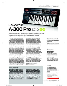 Cakewalk A300 Pro