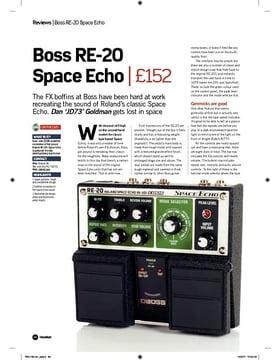 Boss RE20 Space Echo