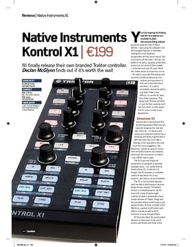 Native Instruments Kontrol X1