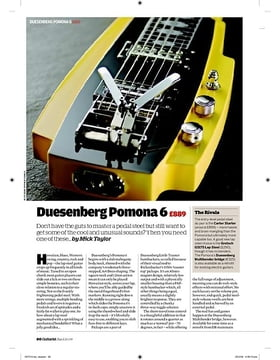 Duesenberg Pomona 6