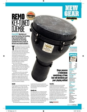 Remo Key Tuned Djembe