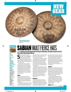 Sabian Vault Fierce Hats
