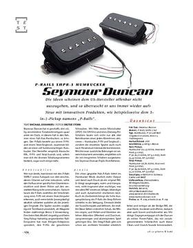 Seymour Duncan P-Rails SHPR-1 Humbucker