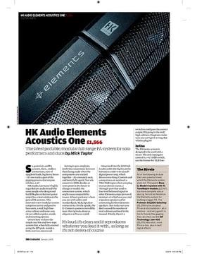 HK Audio Elements Acoustics One