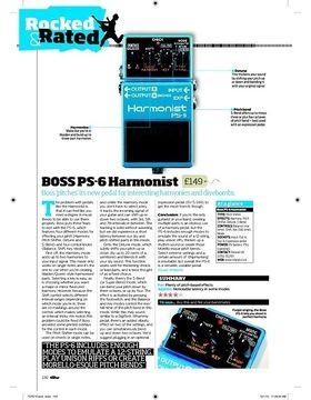 BOSS PS 6 Harmonist