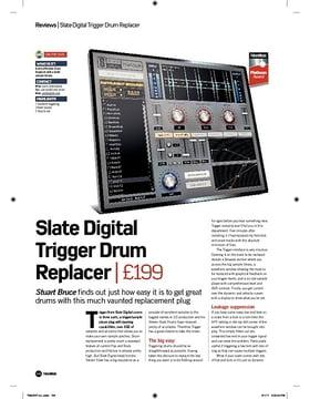 Slate Digital Trigger Drum Replacer
