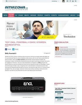 Test: ENGL, Powerball II E645/2, Gitarren-Röhrentopteil