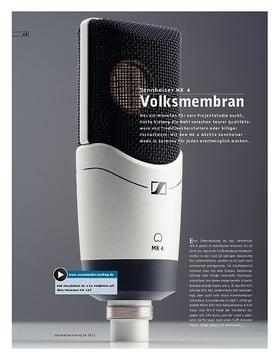 Sennheiser MK 4 – Mikrofon