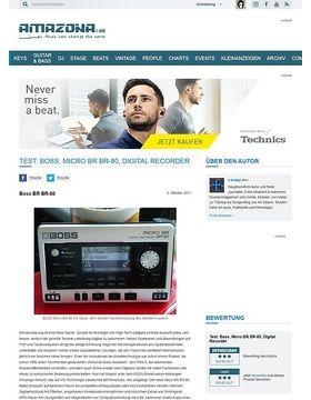 Test: Boss, Micro BR BR-80, Digital Recorder