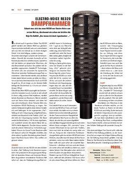 Electro Voice RE320 Mikrofon