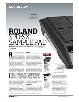 ROLAND SPD SX SAMPLE PAD