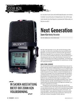 Zoom H2n: Handy-Recorder mit Extras