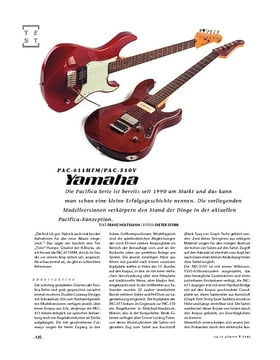 Yamaha PAC-611HFM/PAC-510V, E-Gitarren