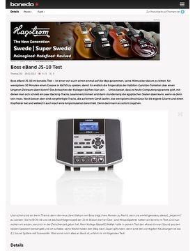 Boss eBand JS-10 Test
