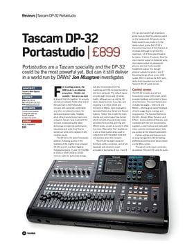Tascam DP-32 Portastudio