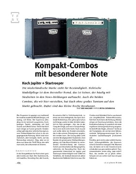 Koch Jupiter + Startrooper, Gitarren-Combos