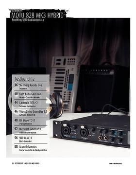 MOTU 828 mk3 Hybrid - Audiointerface mit FireWire und USB 2.0