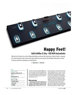Keith McMillen 12 Step – USB-MIDI-Footcontroller