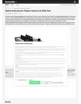 Native Instruments Traktor Kontrol X1 MK2 Test