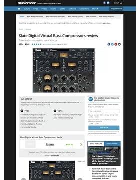 Slate Digital Virtual Buss Compressors