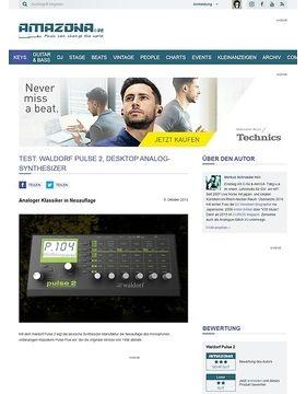Test: Waldorf Pulse 2, Desktop Analog-Synthesizer