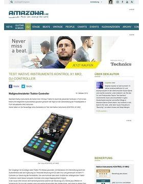 Test: Native Instruments KONTROL X1 MK2, DJ-Controller