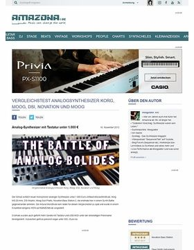 Vergleichstest: Arturia MiniBrute, Korg MS-20 mini, DSI Mopho, Moog Sub Phatty, Novation Bass Station 2