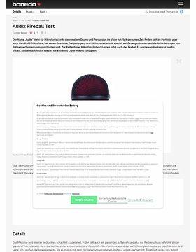 Audix Fireball Test
