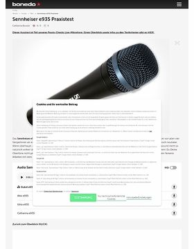 Sennheiser e935