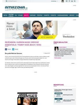 Rezension: Hudson Music Groove Essentials / Tommy Igoe (Buch / DVD)