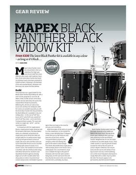 Mapex Black Panther Black Widow Kit