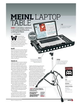 Meinl Laptop Table