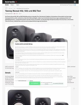 Tannoy Reveal 402, 502 und 802