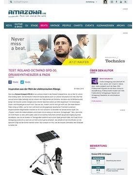 Test: Roland Octapad SPD-30, Drumsynthesizer & Pads