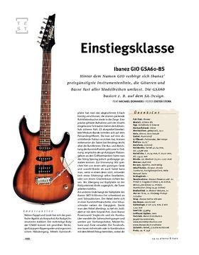 Ibanez Ibanez GIO GSA60-BS, E-Gitarre