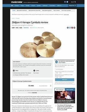 Zildjian K Kerope Cymbals