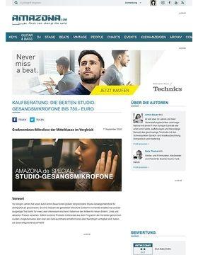 Special: Studio-Gesangsmikrofone Teil 2, Mittelklasse bis 750,- Euro