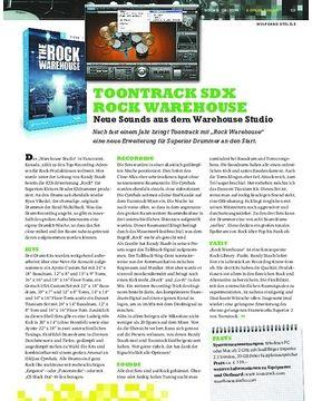Toontrack SDX Rock Warehouse